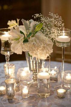 Wedding - Table Centerpieces on Pinterest