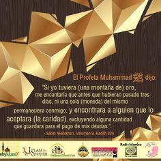 Caridad del Profeta Mohammed (la paz de Dios este con el)