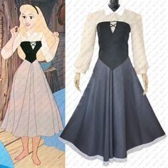 Princess-Aurora-Long-Briar-Rose-Dress-Sleeping-Beauty-Cosplay-Costume-Halloween