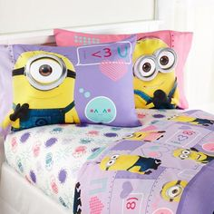Despicable Me 2™ Minion Girls Bedding I designed for Walmart