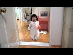 Yerin, 3 years old... I'm scared.... no... not anymore! .... Independence Day! (Daddy's Cut) - YouTube
