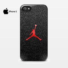 WONDERFUL Classic Retro Michael Air Jordan Art Jumping Painting iPhone 5 5s 5c Hard Case Cover Black or White