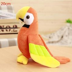 Macaw Parrot Plush Toy