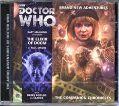 Dr Doctor Who The Companion Chronicles The Elixir of Doom Audio CD Mint | eBay