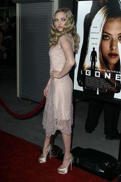 Amanda Seyfried, Wes Bentley at Gone premiere