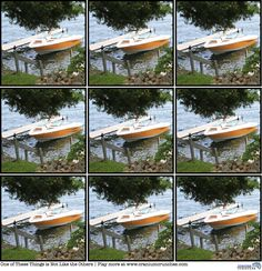 Here is a tricky puzzle from our blog.   Find the photo that is not exactly like the others!