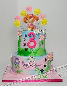 Paw Patrol cake by Design Cakes, via Flickr