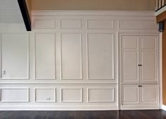 Full Wall Moulding
