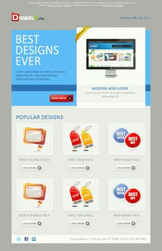 simple email template made in minimal style email newsletter free