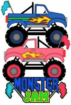 monster truck clip art 24343 monster trucks pinterest monster rh pinterest com monster truck clip art free for birthdays blaze monster truck clip art