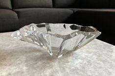 Tapio Wirkkala 3847 'Jäänsärö' (Iceblock) Art Crystal Vase - Finnish Mid-Century Modern Vintage Glass Design from Iittala, Finland Glass Design, Vintage Designs, Mid-century Modern, Glass Art, Mid Century, Crystals, Jewelry, Jewlery, Jewerly