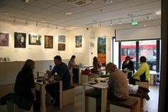 Woolfson & Tay at Bermondsey London SE1 - our bookshop cafe