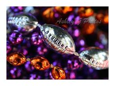 Instant download Photograph of football beads and by AshleyGPhotos