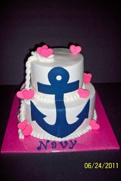 1000 Images About Military Cakes On Pinterest Anchor