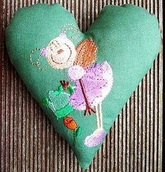 Hier mein  58. Herz für Dich: Die wunderhübsche Blumenelfe