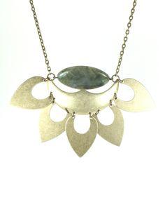 Blue Goldstone Lolo Necklace