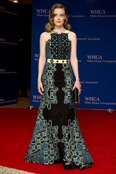 This week's best dressed dared to be both edgy and glamourous: Gillian Jacobs