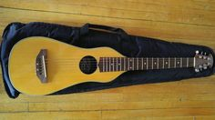 Rare Applause by Ovation Voyager Model AA10 Acoustic Travel Guitar & TKL Gig Bag #Applause