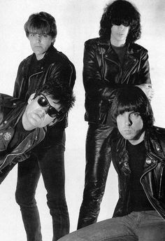 The Ramones photographed by George Dubose