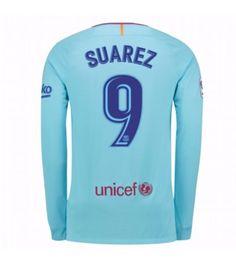 Nike Barcelona Away Long Sleeve Shirt (Suarez Neymar, Messi, Fc Barcelona, Manchester United, Wetsuit, 18th, Long Sleeve Shirts, Soccer, Graphic Sweatshirt