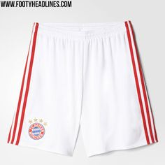 Bayern München 16-17 Home Kit Shorts /a Germany