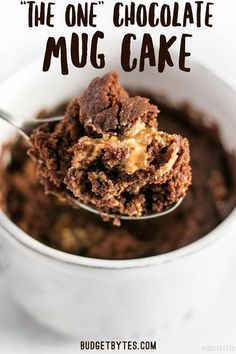 In just two minutes you can have this perfect single serving chocolate mug cake to quiet that sweet tooth cake mugcake dessert sweettooth peanutbutter chocolate chocolatecake yummy Microwave Chocolate Mug Cake, Chocolate Chip Mug Cake, Mug Cake Microwave, Chocolate Mug Cakes, Flourless Chocolate, Homemade Chocolate, Microwave Recipes, Chocolate Cream, Vegan Chocolate