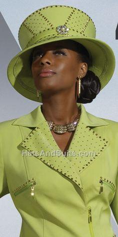 a3457902cf9 Donna Vinci Couture Church Hat H5420 Church Attire
