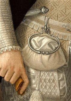 Detail: Wearing a ring bag at his waist, Ferdinand II of Austria by Francesco Terzio. Fashion History, Fashion Art, Classic Paintings, Classical Art, Detail Art, Renaissance Art, Historical Costume, Art Plastique, Matisse