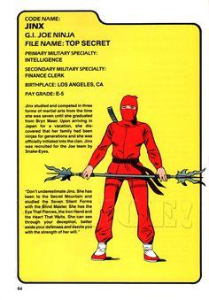 Jinx (v1) G.I. Joe Action Figure - YoJoe Archive
