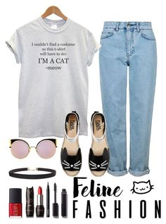"""""""Puuurrrfect"""" by evidentlysarah ❤ liked on Polyvore featuring Topshop, Karl Lagerfeld, Chanel, NARS Cosmetics, Fendi and Humble Chic"""