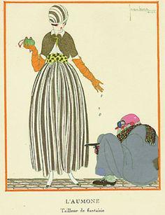 Vintage Pochoir Prints