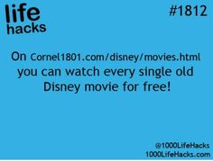 Site to watch Disney movies for free