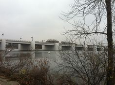 Claude Allouez Bridge over the Fox River, De Pere, Wisconsin