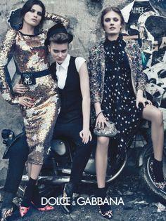 Dolce & Gabbana Fall 2011 Ad Campaign