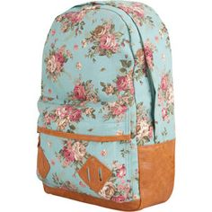 cute floral back pack