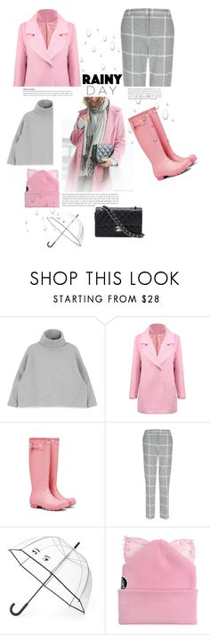 """""""Splish Splash: Rainy Day Style"""" by emcf3548 ❤ liked on Polyvore featuring Hobbs, Kate Spade, Silver Spoon Attire, Chanel and rainyday"""