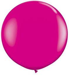 "36"" Wild Berry latex balloons"