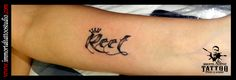 #Tattoos #Ink Lettering #Name #Grayshade #crown #Indore at Immortal Creative Tattoo Studio #Indore #Dinakaran ur views, Comments and shares would be Appreciated!