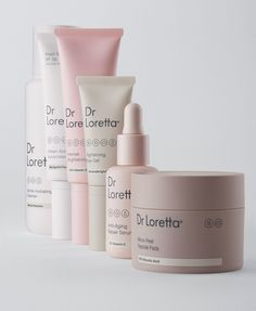Fight Aging Skin with Dr. Loretta - - Fight Aging Skin with Dr. Loretta Branding & Graphic Fight Aging Skin with Dr. Skincare Packaging, Beauty Packaging, Cosmetic Packaging, Brand Packaging, Cosmetic Design, E Commerce, Packaging Design Inspiration, Cellulite, Creme