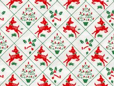 Have a safe and joyous Christmas! Miniature Christmas, Noel Christmas, Christmas Paper, Retro Christmas, Christmas Crafts, Christmas Things, Vintage Christmas Wrapping Paper, Vintage Christmas Images, Christmas Gift Wrapping