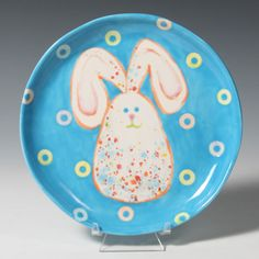 Make a bunny with Crystal Glazes and reinforcements!