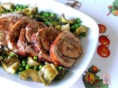 Un arrotolato di tacchino con le castagne, semplice da cucinare, pratico (si può tranquillamente preparare in anticipo e poi riscaldare) e molto buono.