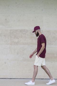 alkarus: Aimé Léon Dore Cap/tee/short Common projects sneakers