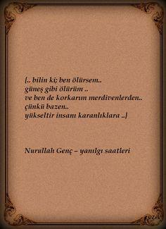 * Nurullah Genç