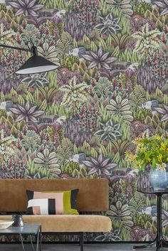 This wallpaper design by Cole and Sons is quite simply amazing!
