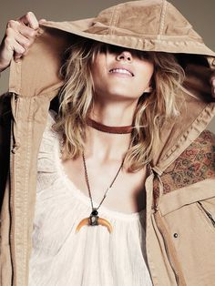 Free People Living in America Necklace, NZ$233.29