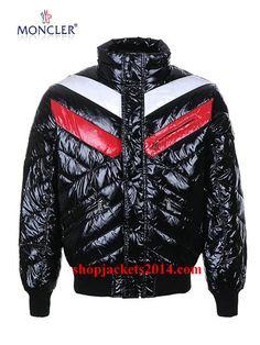 Moncler Outlet UK Men Bubble Jackets Black