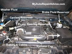 Here's a look at some of the things under the hood that need to be checked on a regular basis.