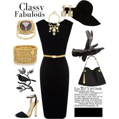 Classy & Fabulous, created by kjsteiner on Polyvore