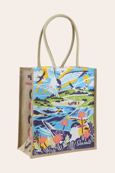 4BAGS  shopping bag  green grocery bag  market bag  recycled pre- loved fabric TOTE eco friendly zero waste reusable bag.